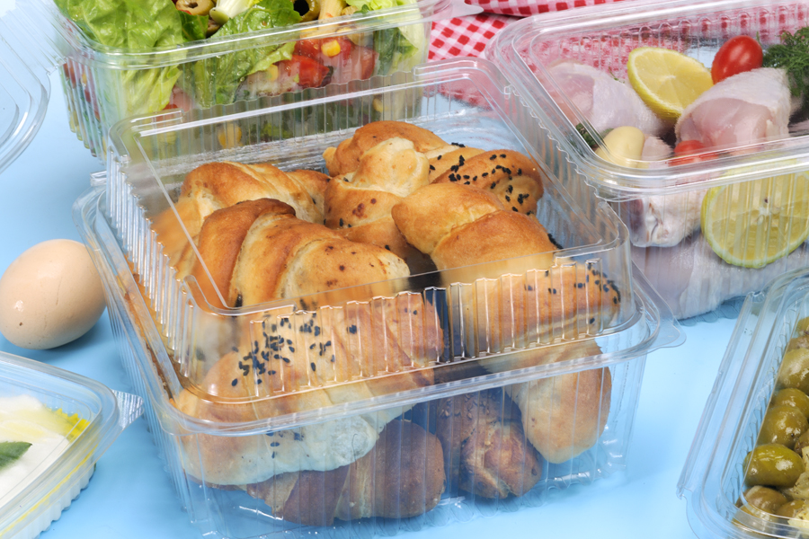 Bakery Clear PLstic Container